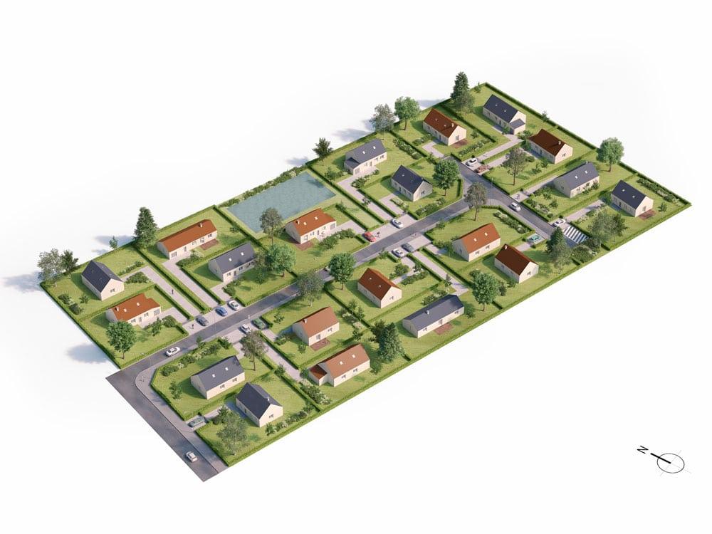 Terrain à vendre Saint-Ouen-du-Breuil
