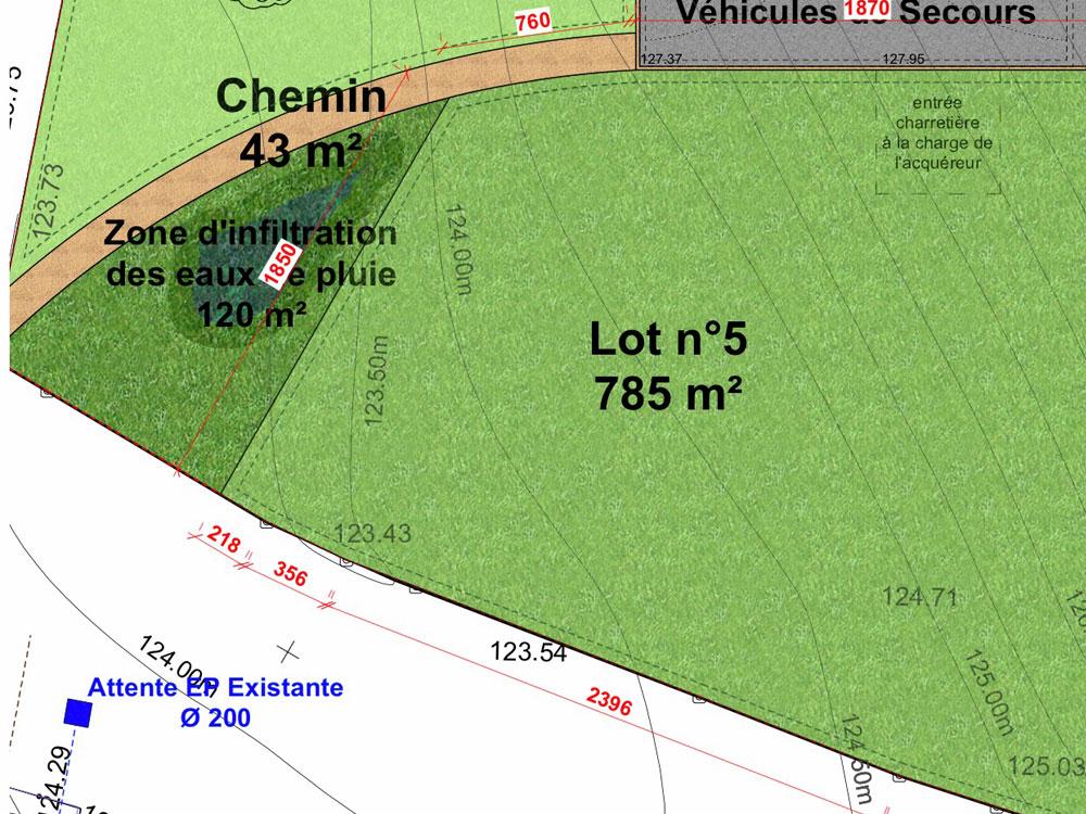 terrain à vendre Le Neubourg 27110
